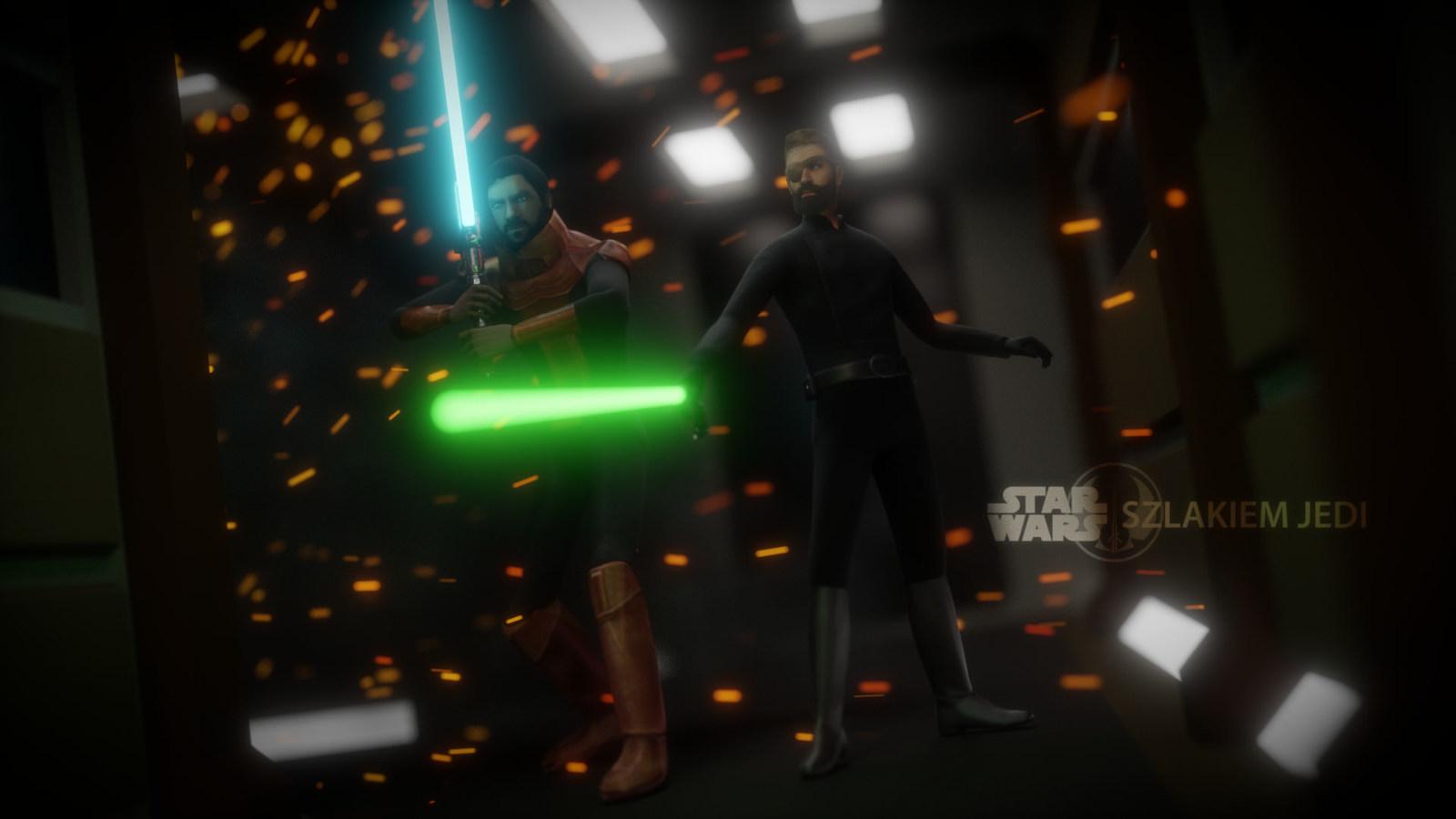 Rycerz Jedi Ezequiel Thaxton i Uczeń Jedi Namon-Dur Accar